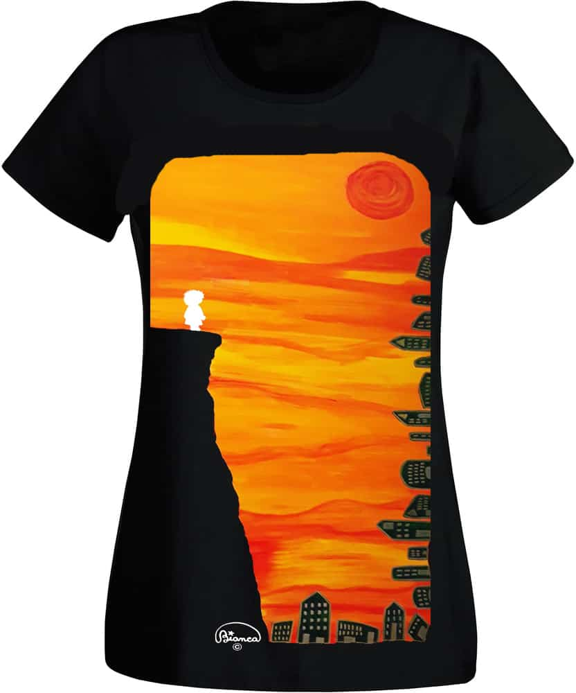Ejemplo camiseta con lienzo