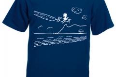 fly t-shirt uomo
