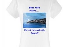 pietra t-shirt donna
