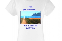 poetto t-shirt donna