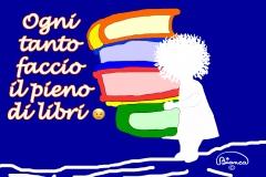 Pieno di libri